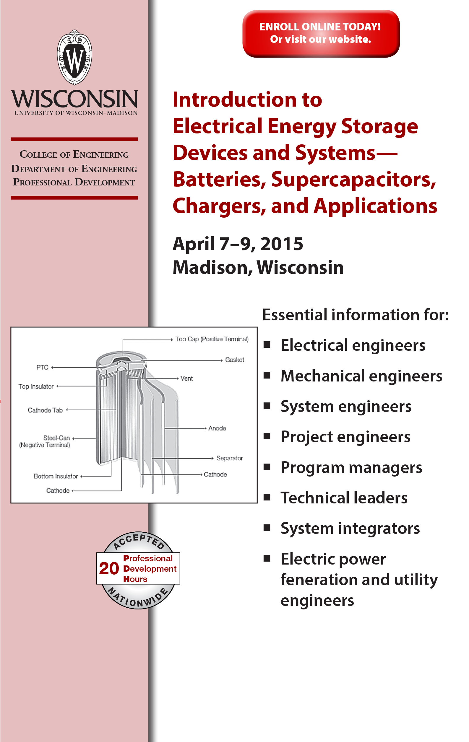 Introduction to Electrical Energy Storage Devices and Systems